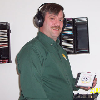 Bob Ziegenbein with Headphones photo